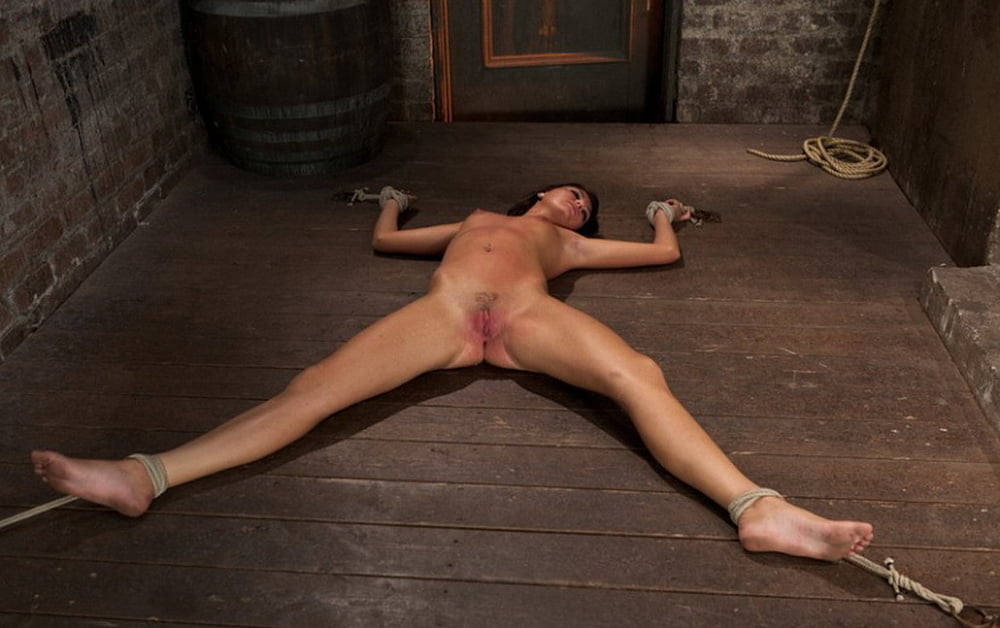 Milf Suspended And Got Pussy Chained In This Bdsm Torture