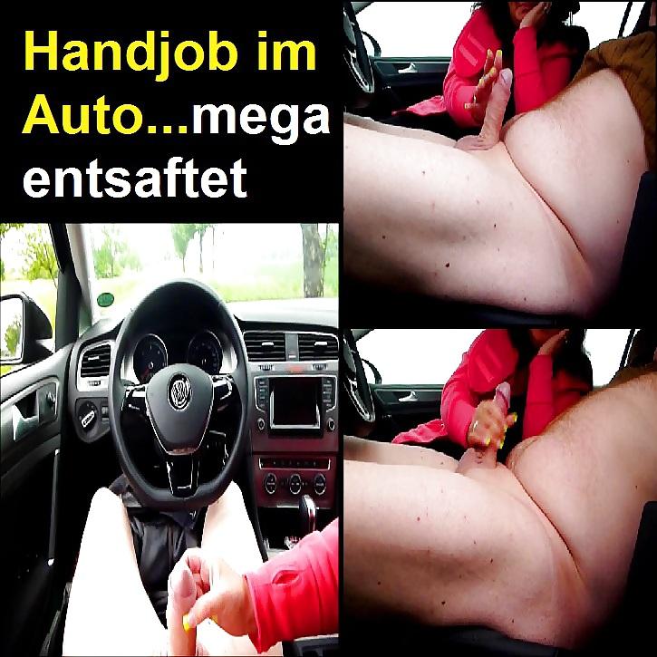 Auto handjob im Car handjob,