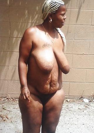 Mature black hairy women