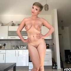 Busty German Pornstar Gabi Gold Gives Herself An Orgasm!