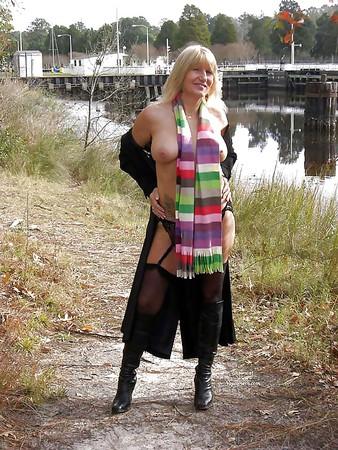 das bin ich..mit Schal