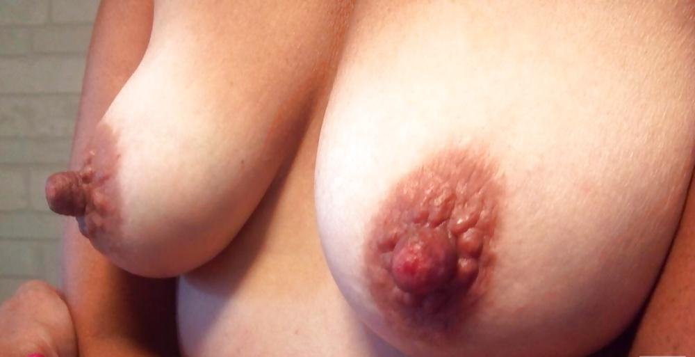 Порно большие круги вокруг сосков — 4