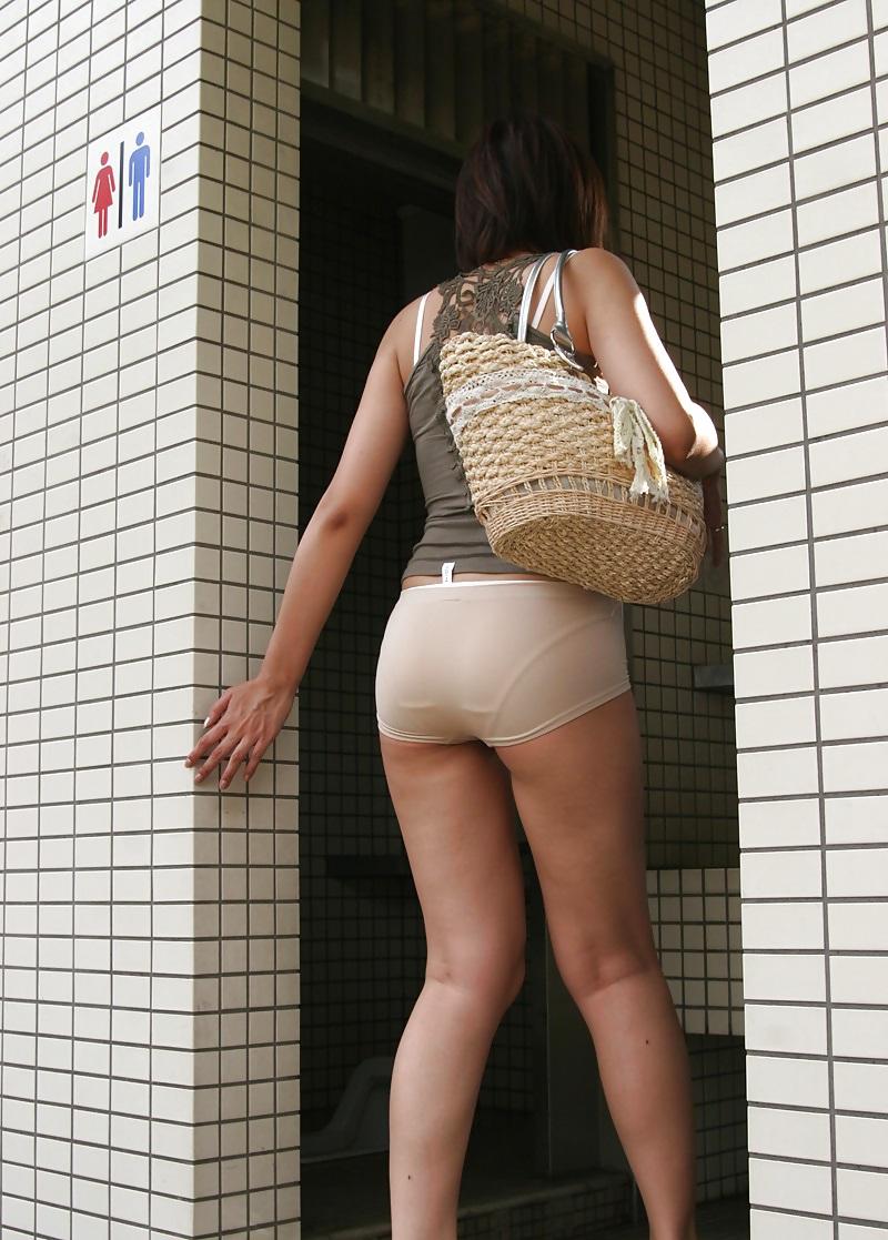 Asian Girls On Tight Panties Upskirt Voyeur Street - 230 -2932