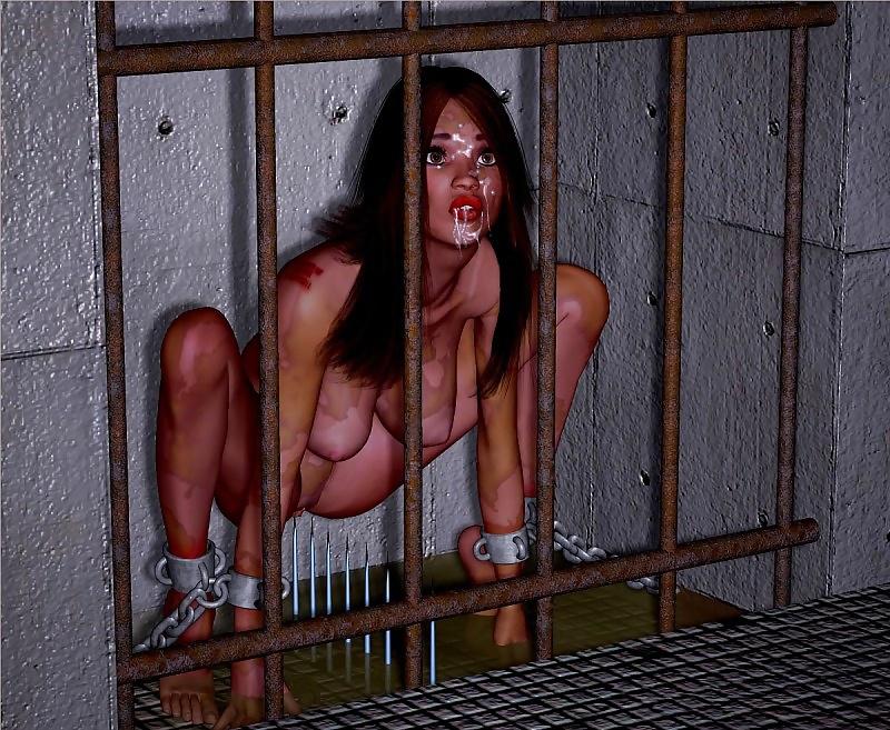Chastity femdom prisoner