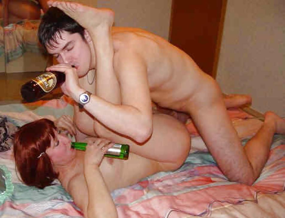 Секс пьяных мамок