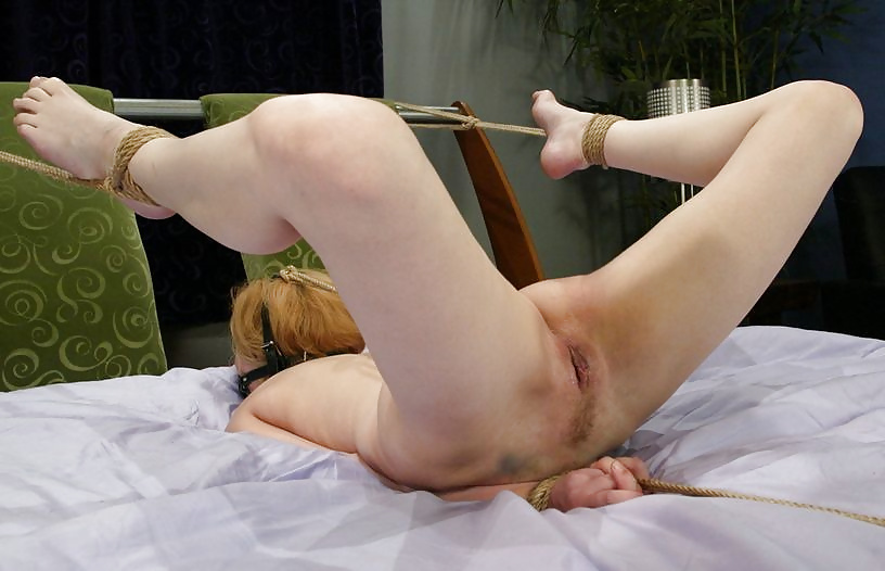 Teen girls tied up and naked in pain — 12