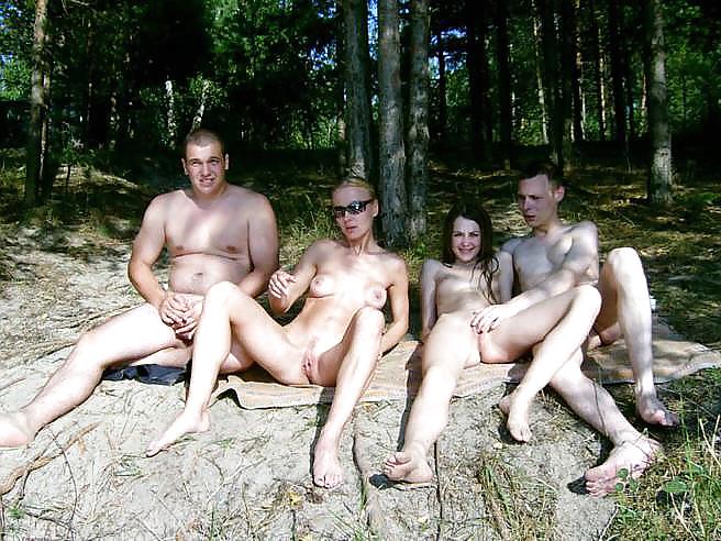 русские свингеры на природе порно видео - 1