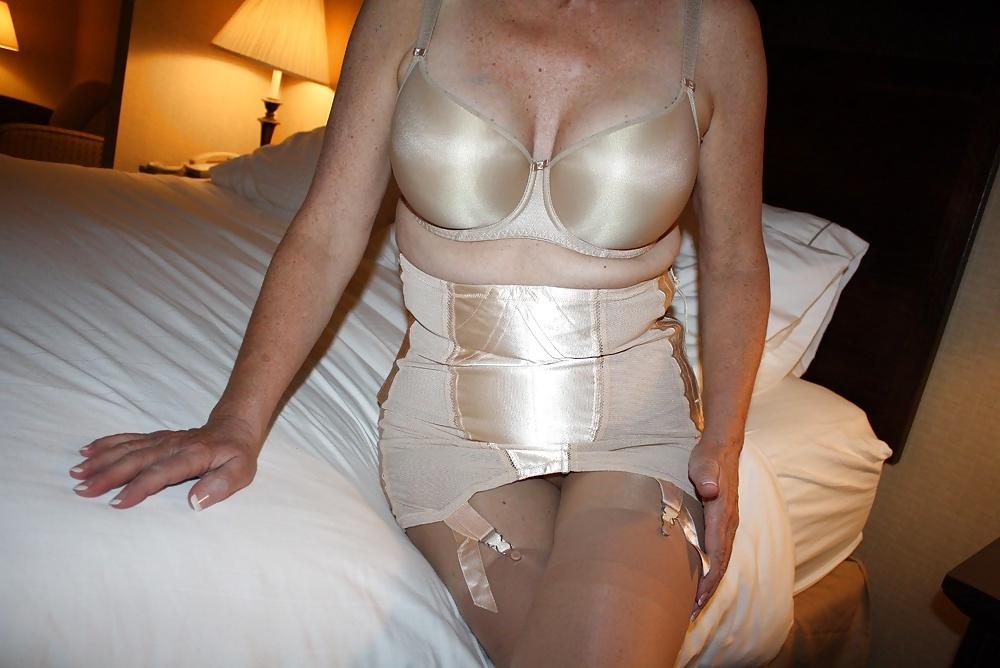 Crossdressing girdle free pics