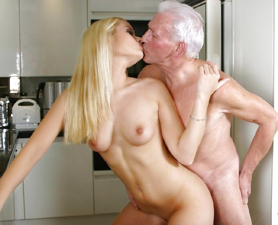 Old Man With Huge Dick Fucks Sexy Teen Girl