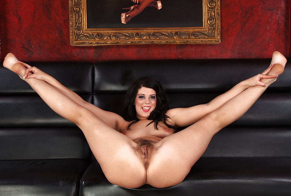 Sitting spread eagle nude 10