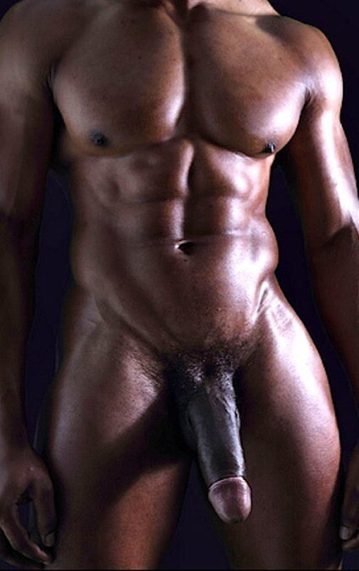 Naked thick black men