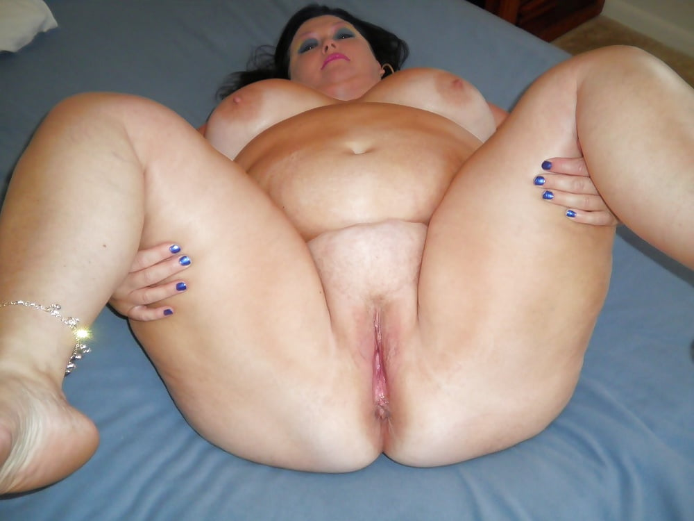Fat ass white lady pussy