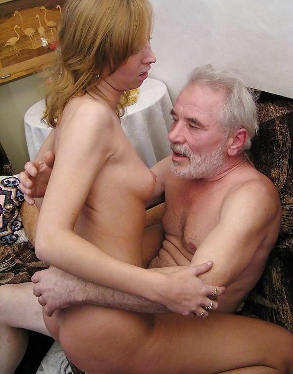 Порно русские старик и молодая на камеру 6