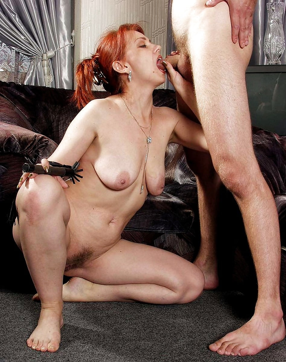 mommy-mature-redhead