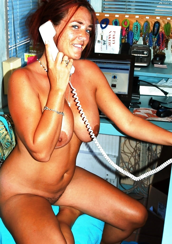 Nude milfs at work masterb topless