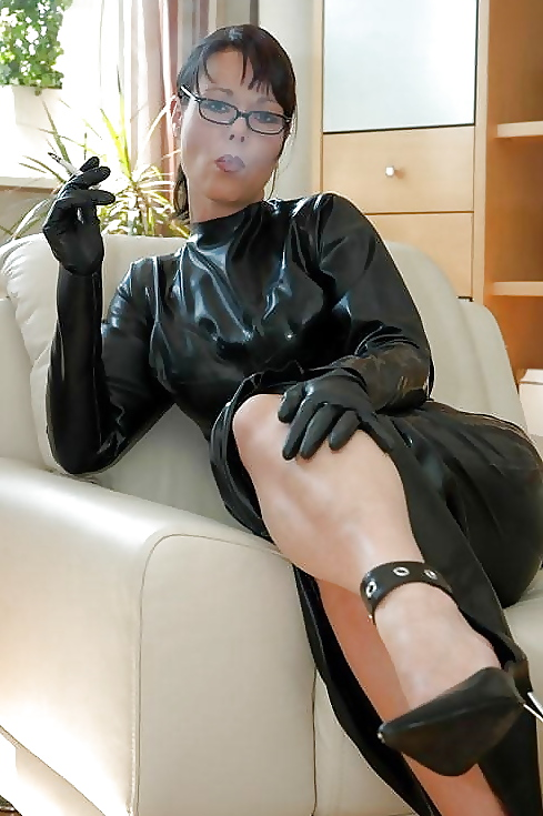 Westernised big butt arabian domme in black leather - 2 part 4