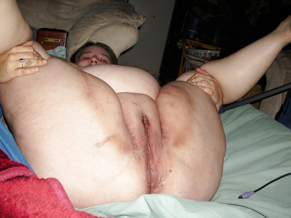 Ugly nasty hairy pussy