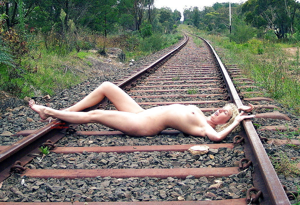 Naked on train tracks — 5