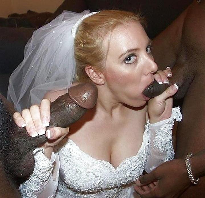 Slut Bride Black Cock