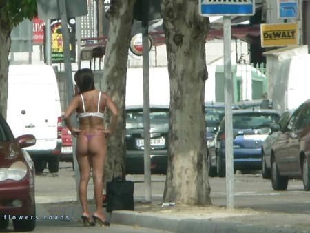 Street hookers. Roadflowers 1
