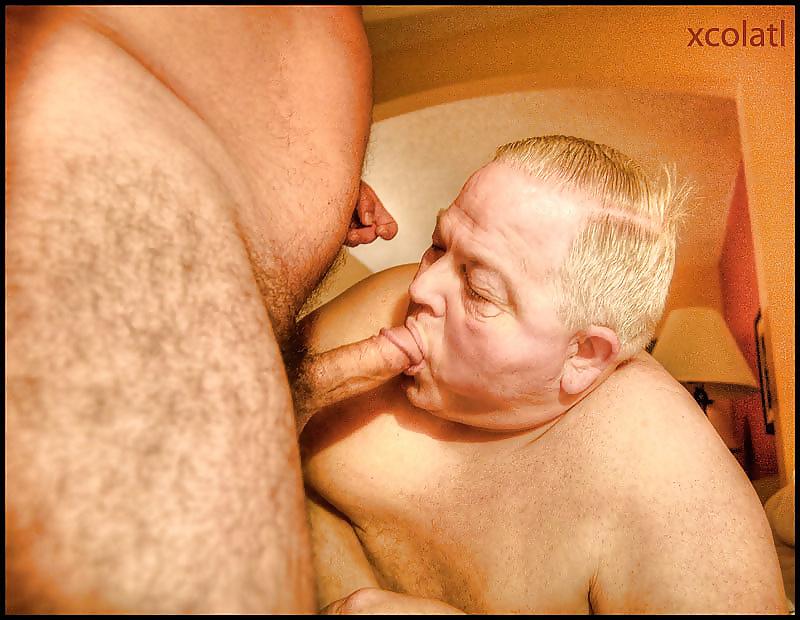 Stinky old gay bukkake