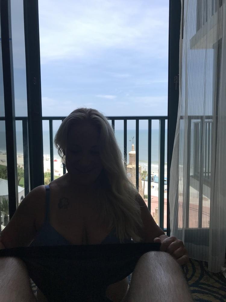 Milf slut taking her Sir's cock at Daytona Beach - 59 Pics