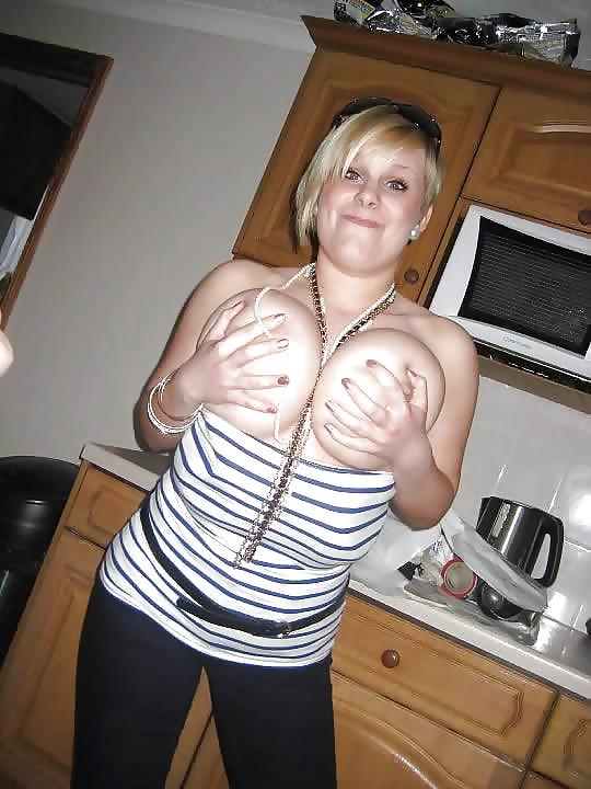 Hot Blonde Big Tits Teen