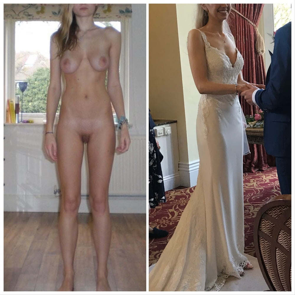 Big breasted women dressed and naked