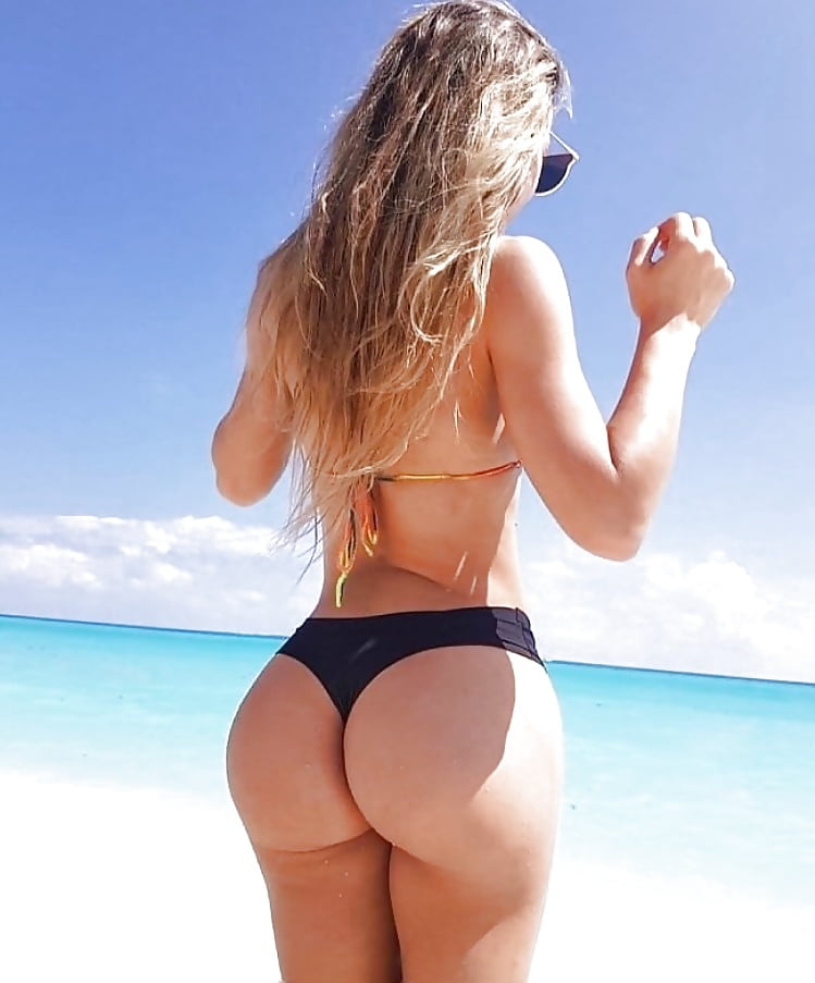 The Nicest And Sexiest Plus Size Model Butt In Underwear And Bikini