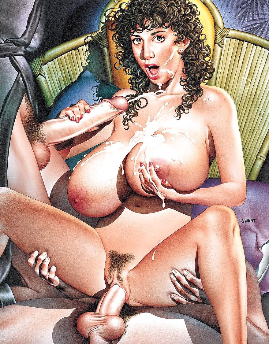 Huge tits comics
