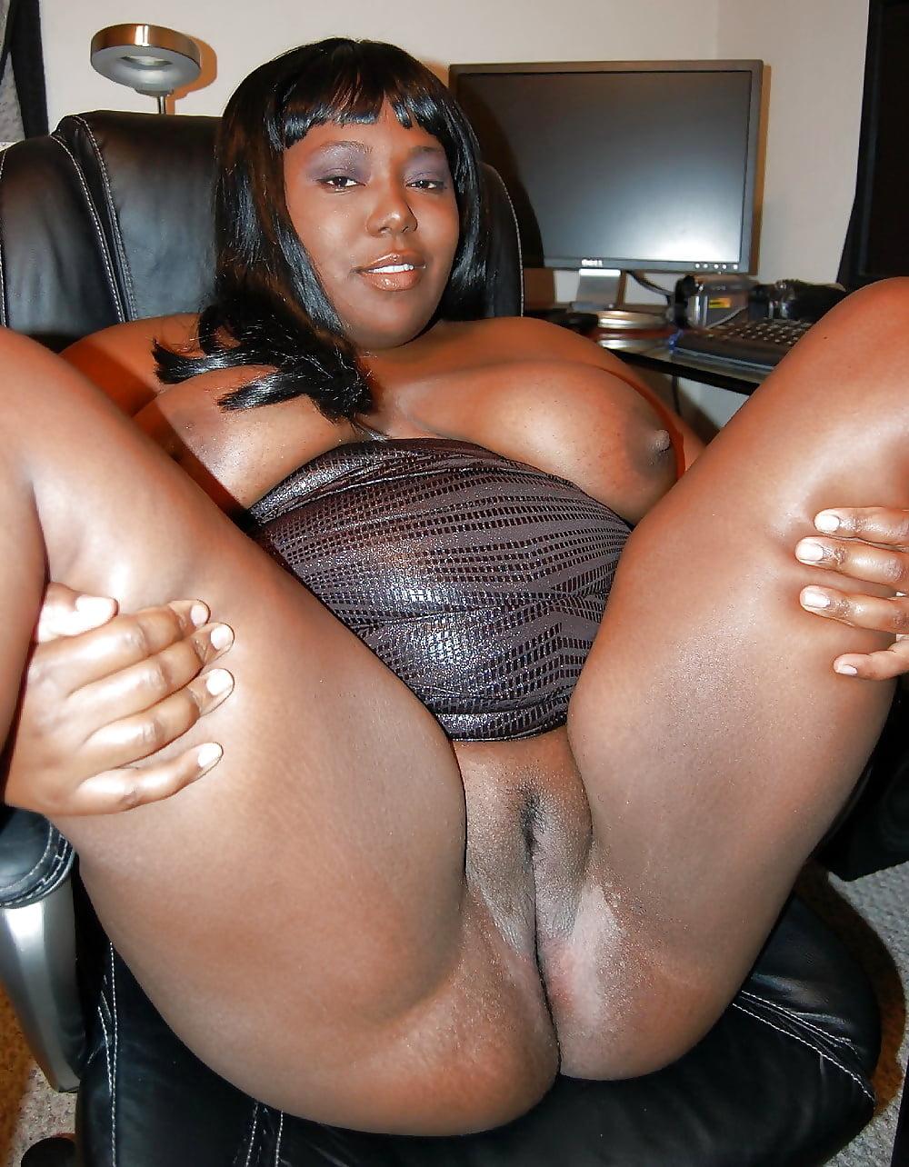 Ebony Bbw Pussy Close Up