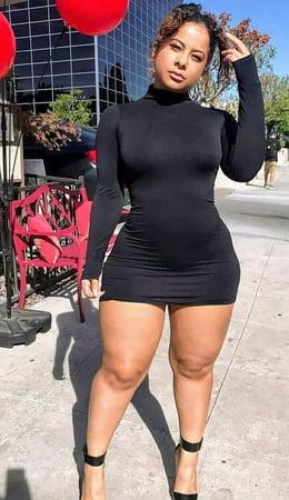 Black women with big legs