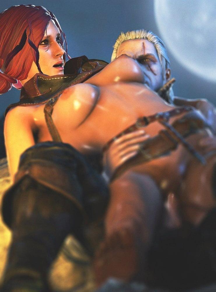 Triss Merigold PORN The Witcher- 290