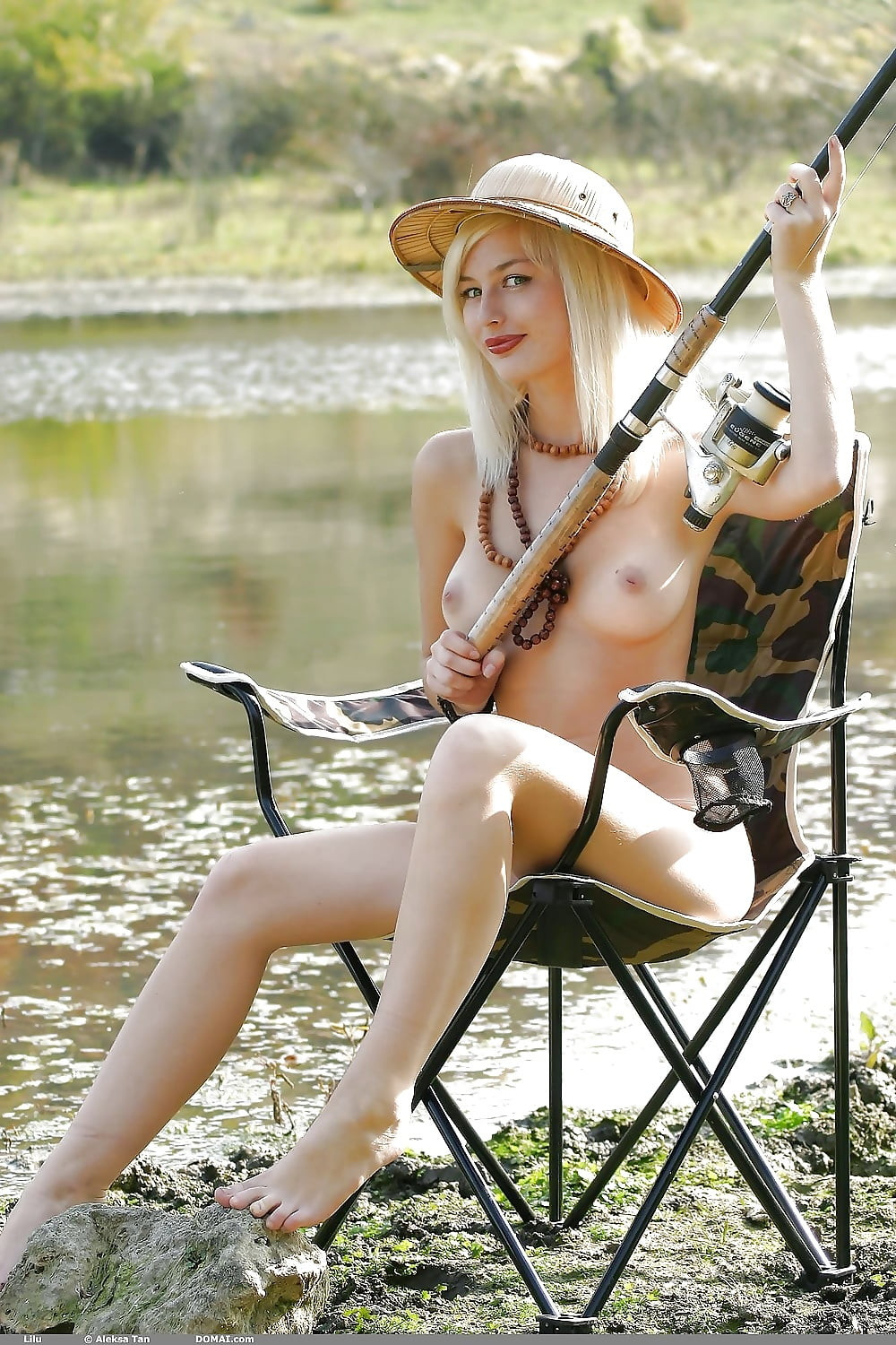Sexy nude girls fishing, nude unclothed couples
