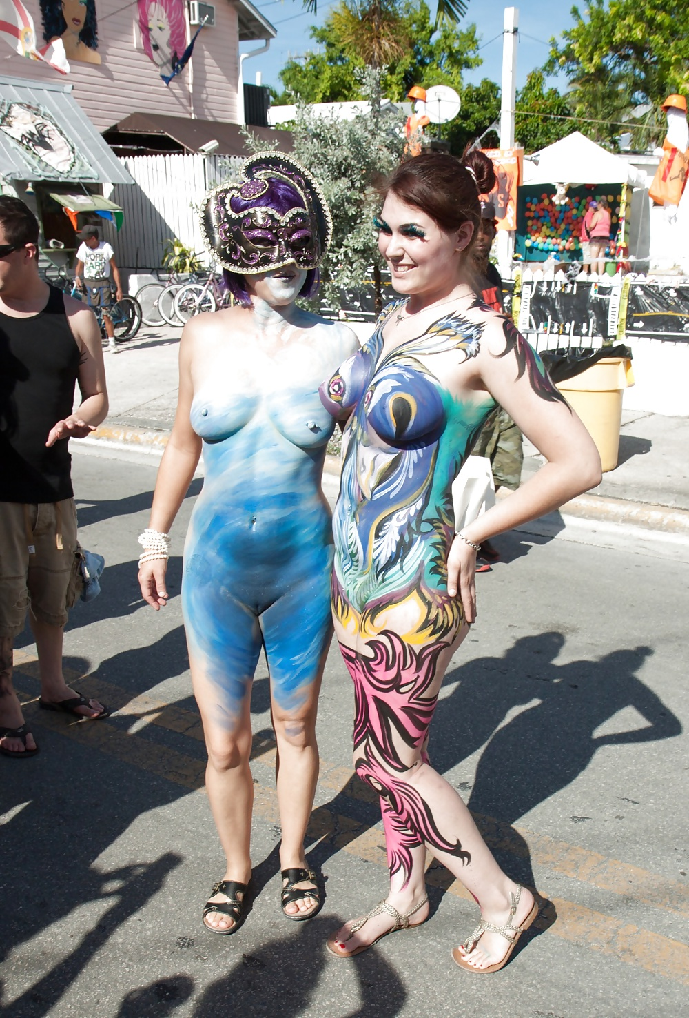 Nude body paint over hairy pussy, olivia pawn stars nude naked breasts