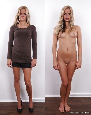 Und fotos nackt bekleidet Nackt Und