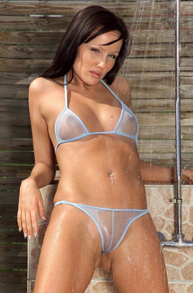 Extreme Micro Bikini Hot Mesh Sheer Sexy Mini Cheeky Brazilian Pornovideoshub 1