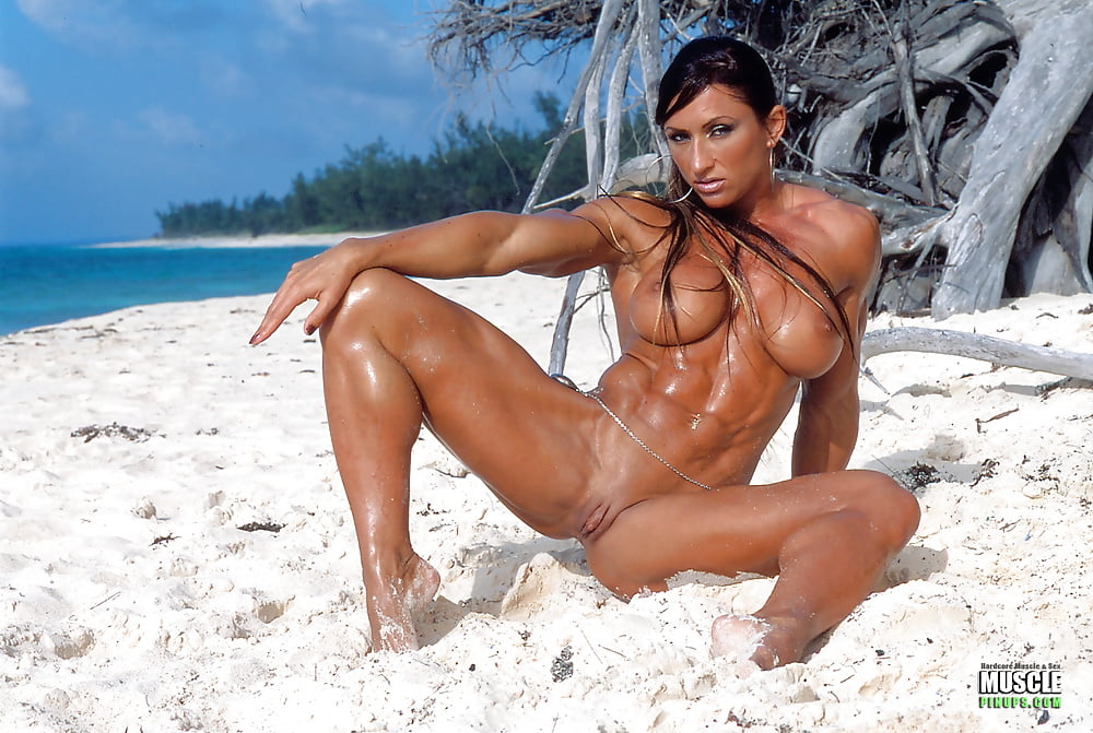 Female bodybuilders, muscular women, fitness and muscle, nude sport