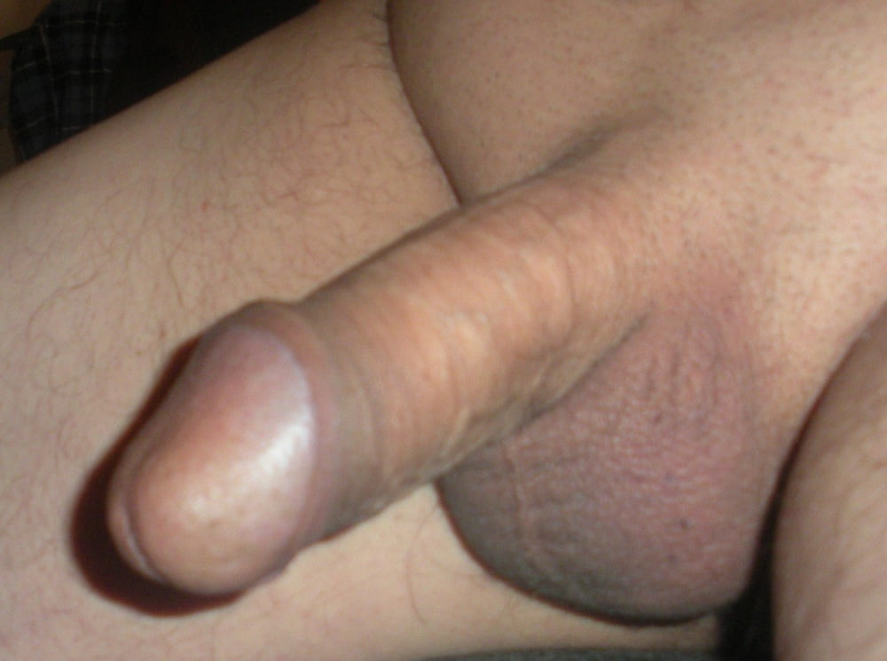 Shaved tranny cock