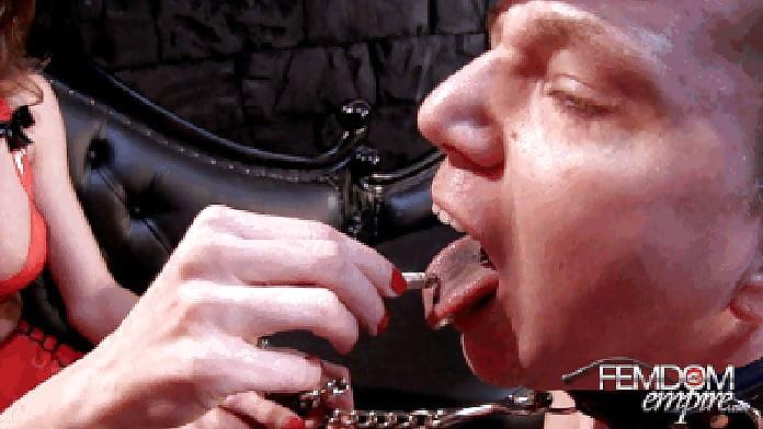 Free femdom ashtray slave porn pics