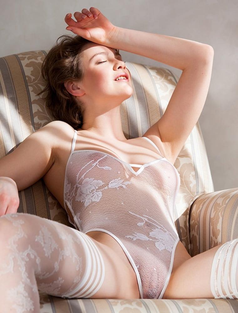 Erotic see through mesh bra sexy sheer bustier lingerie