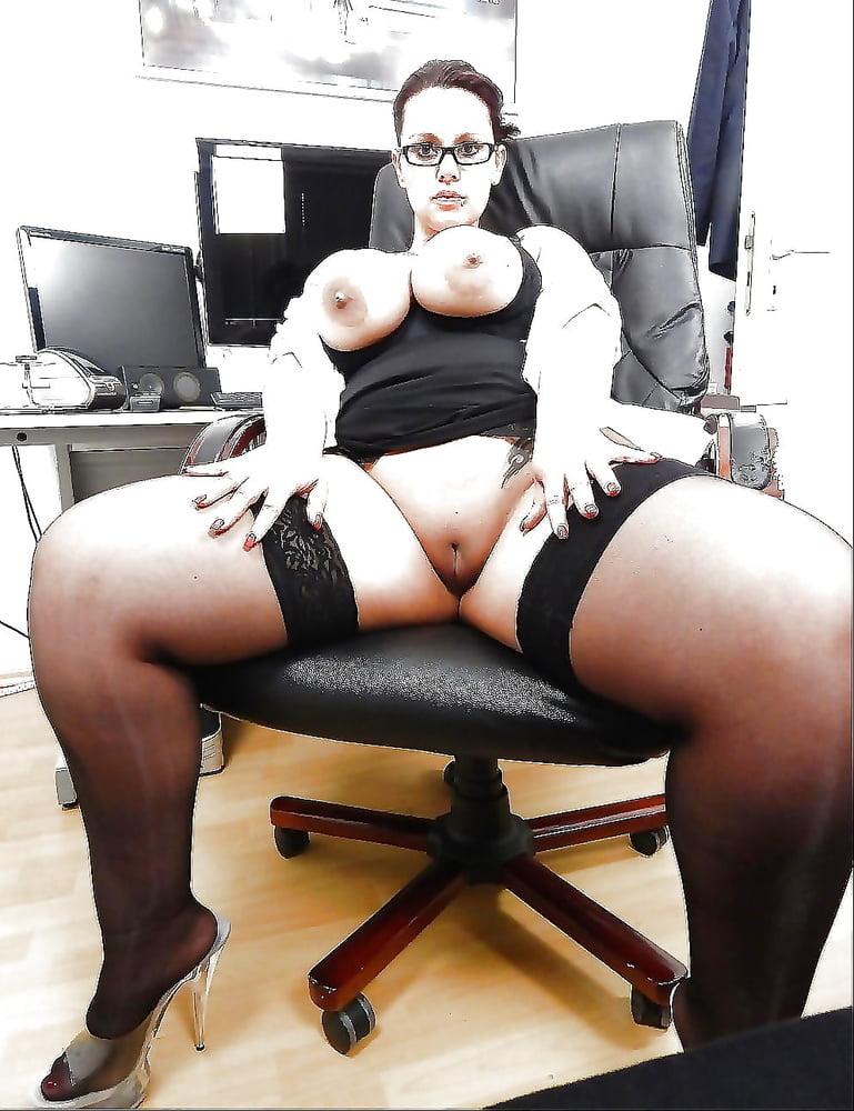 такая, что порно пухленькая секретарша что факт