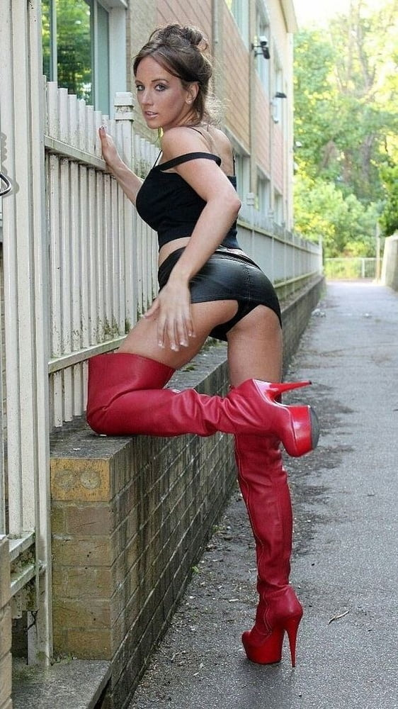Trashy whores wearing stockings and high knee boots 2 - 157 Pics