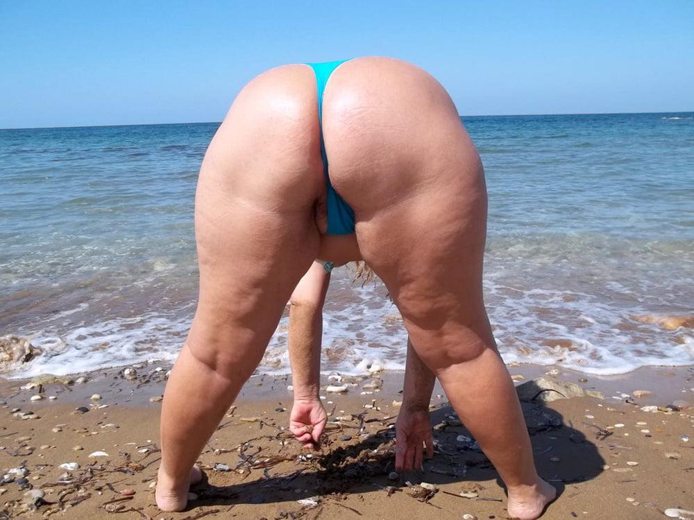 Ssbbw beach