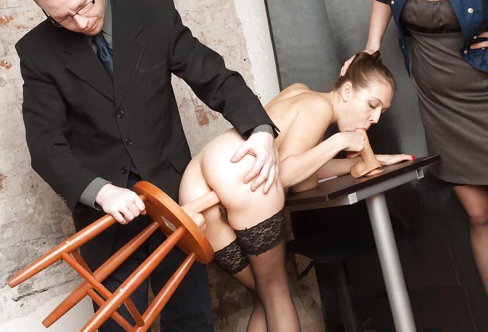 Кастинг на должность секретарши порно 13