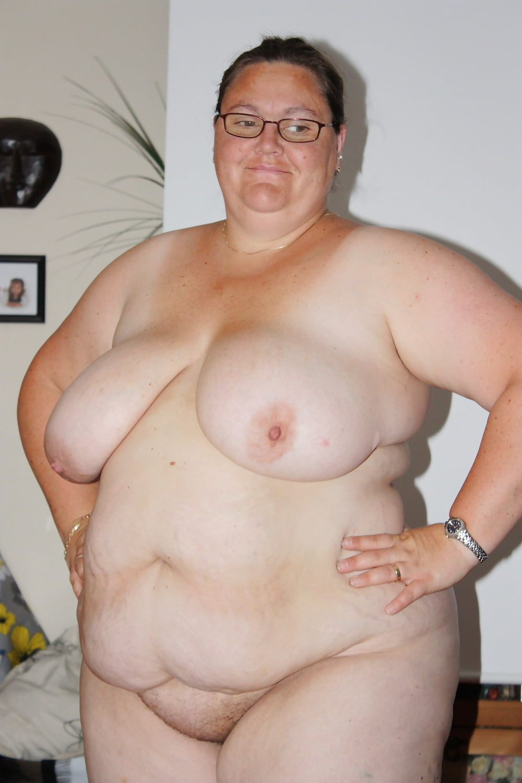 Naked fat black guy