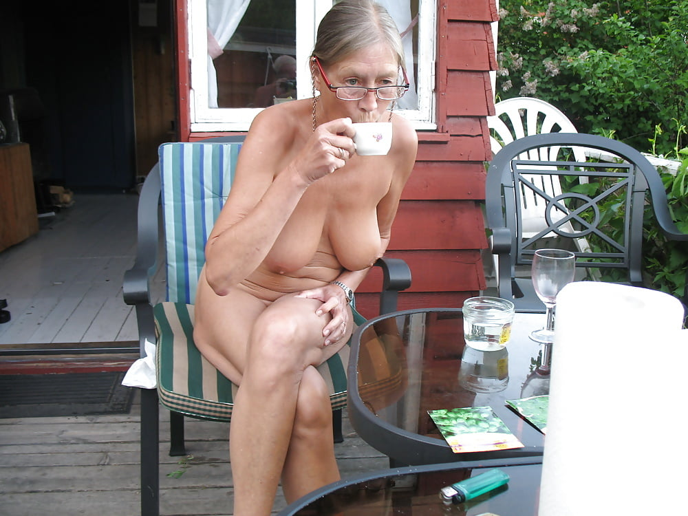 Old ladies nude in public