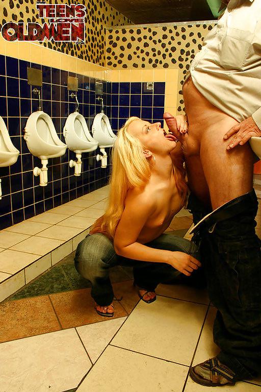 Fake restroom porn 6