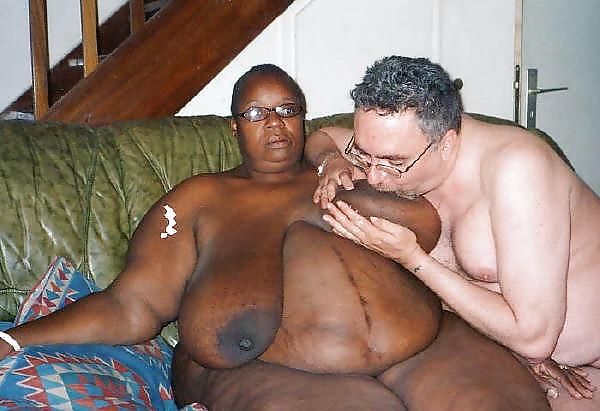 Black ssbbw white guy