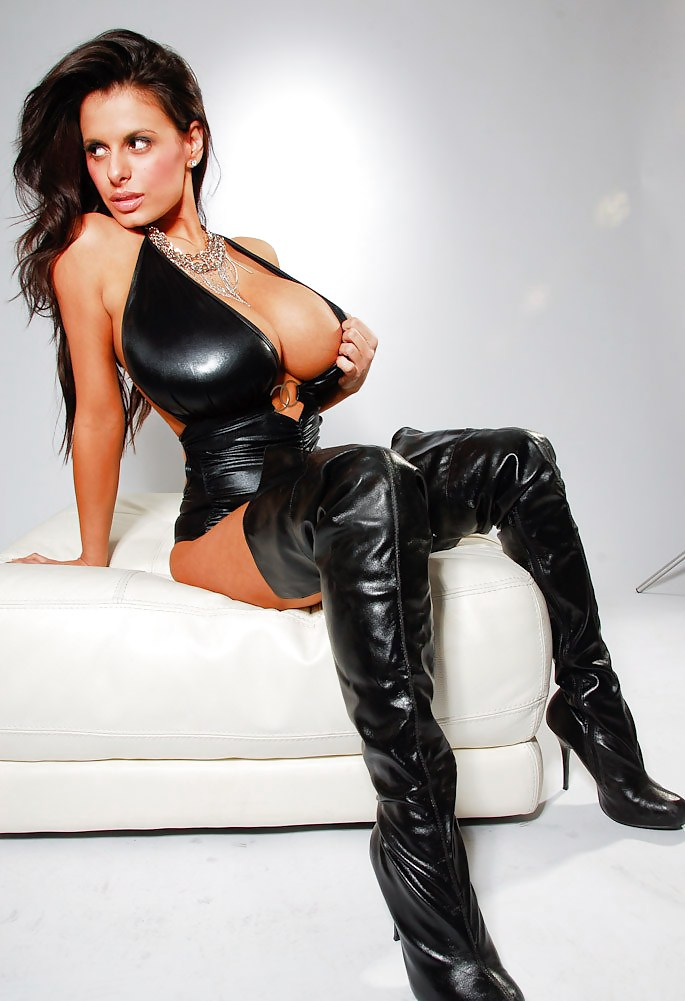 Wendy Fiore Leather - 10 Pics  Xhamster-4504